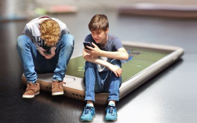 The effects of technology and screens on child development