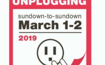 Celebrating the National day of Unplugging